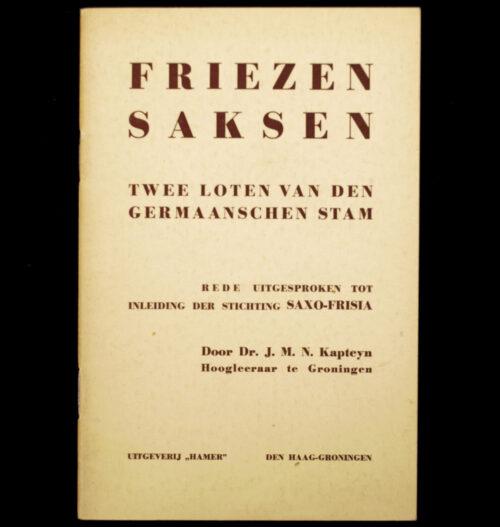 (NSB) Friezen Saksen twee loten van den Germaanschen Stam (1941)