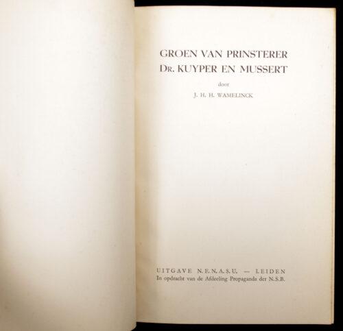 (NSB) Groen van Prinsterer, Dr. Kuyper en Mussert (1941)