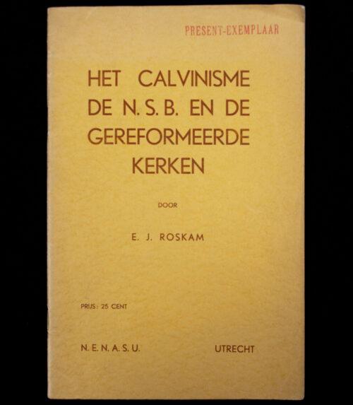 (NSB) Het Calvinisme De N.S.B. en de gereformeerde kerken (1937)