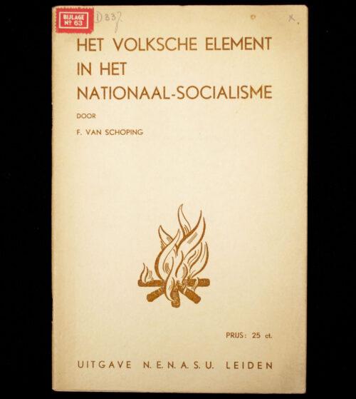 (NSB) Het Volksche element in het Nationaal-Socialisme (1937)