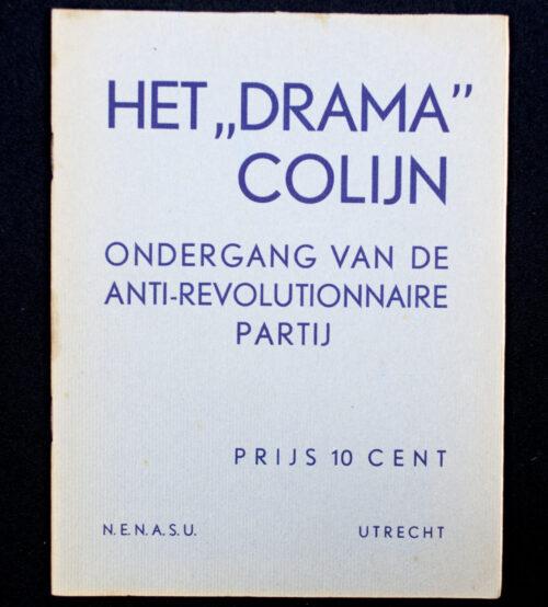 (NSB) Het drama Colijn - Ondergang van de anti-revolutionaire partij (1936)