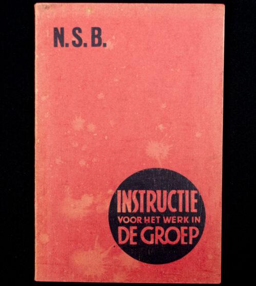 (NSB) Instructie voor het werk in de groep (ca. 1940)