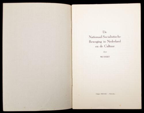 (NSB) Mussert - De Nationaal-Socialistische Beweging in Nederland en de Cultuur (1941)