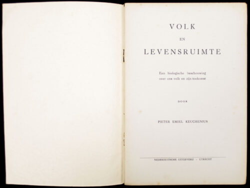 (NSB) Volk en levensruimte (1941)