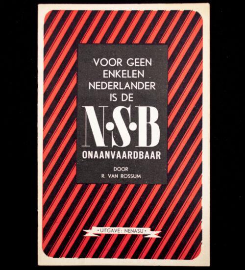 (NSB) Voor geen enkelen Nederlander is de NSB onaanvaardbaar (1941)