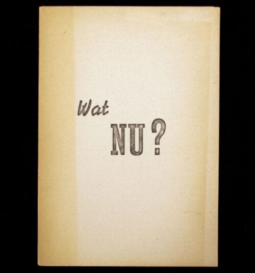 (NSB) Wat Nu Radiorede van den Rijkscommissaris Dr. Seyss-Inquart op 7 Januari 1945