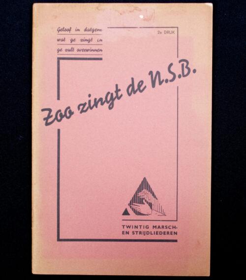 (NSB) Zoo zingt de NSB. (1938) 2nd edition